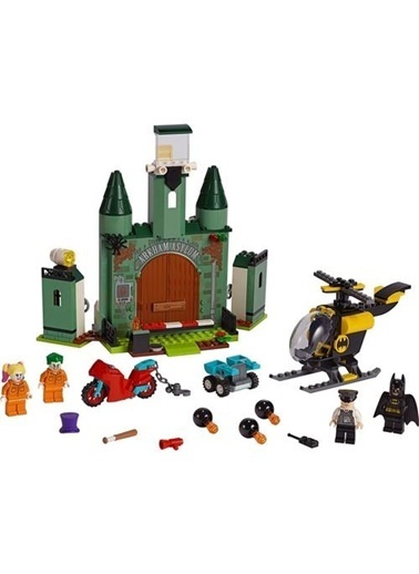 Lego LEGO Super Heroes Batman ve Joker Kaçışı Renkli